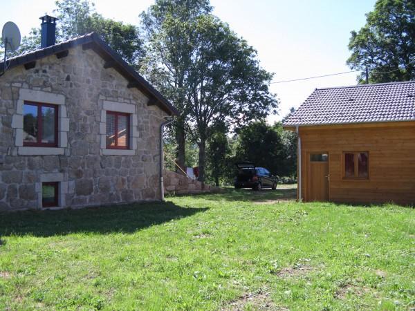 Maison en pierres avec vue sur le lac de lavalette maison au bord du lac de lavalette - Maison avec vue lac lands end ...